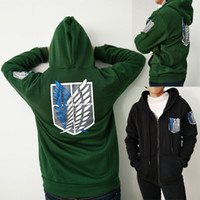 Discount game hoodies - Attack on Titan Men Women Gold Jacket Hoodies Winter Sweatshirt Coat Patry Cosplay S-2XL CS005