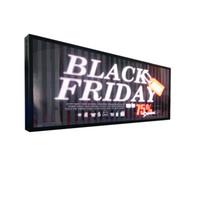 ingrosso led edit-Display a LED schermo pubblicitario interna elettronica scroll screen logo USB può modificare immagini di testo