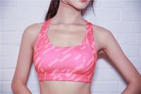 Wholesale Ordering Bra Wholesale - Gym Camouflag Print Running Bra Tops Women Fitness Exercise running yoga Sports Bra Ladies Sport Tank Tops female Yoga Brassiere Vest