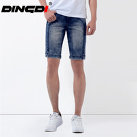 Wholesale New Factory Design - Wholesale-2016 Factory washed Brand New exclusive design slim fit men shorts jeans men summer nice and cool short jeans pants for men