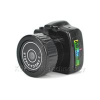 Wholesale full hd pocket camcorder - Wholesale- Micro Portable Digital HD CMOS 2.0 Mega Pixel Pocket Video Camera Audio Camcorder Mini Video Camera 480P for DV DVR Recorder