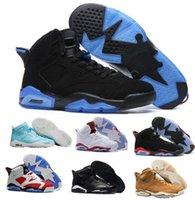 Wholesale Future Cotton - Best Retro 6 VI Basketball Shoes Women Men's Retros J6s VI Real Replicas Man Retro Shoes Hombre Basket Sneakers