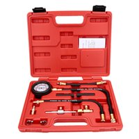 Wholesale Fuel Indicator - Portable TU-113 Universal Fuel-pressure Indicator Precision Fuel Injection Pump Pressure Test Kit Vehicle Combo Tools Kit
