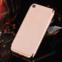 Wholesale Electroplating Battery - Luxury Electroplate Hybrid Armor 3 in 1 Ultra-thin Hard Back Cover Electroplating Case for Iphone 7 Samsung S7 Xiaomi Huawei P9 mate9