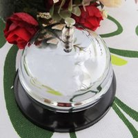Wholesale Call Services - Serving Bell On Table Exquisite Durable Man Calling Dish Bells Restaurant Hotel Kitchen Service Ring Multi Function 4 5jz F