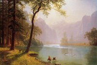 Wholesale beautiful oil paintings art for sale - 100 Handmade Art beautiful Classical Landscape Oil painting Reproduction Modern Canvas Wall Art Office bedroom Home living Room Decor FJ118