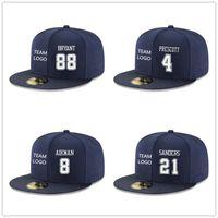 Wholesale Short Hat Army Caps - Wholesale-Customs Mens Dak Snapback Prescott Hats Ezekiel Adjust Elliott Caps Jason Witten