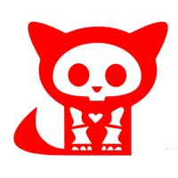Wholesale Medical X Rays - Wholesale 10pcs lot Cartoon Animals Cat In Medical X-ray Radiographs Funny Car Sticker for Motorhome Wall Motorcycles Car Decor Vinyl Decal