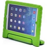 Wholesale 3d Case For Ipad - 3D Cute portable bundle kids Safe Foam ShockProof EVA Case Shockproof Handle Cover Stand For iPad 2 3 4 air 2 free shipping