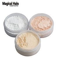 Wholesale Halo Lights - Magical Halo Long Lasting Loose Powder Waterproof Matte Setting Powder with Puff Concealer Light Banana Powder Mineral Makeup
