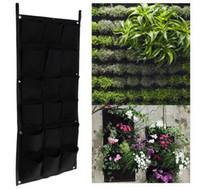 caliente bolsillos cm cm colgante de plantas de macetas pot de pared vertical jardn