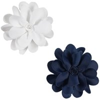 Wholesale Mini Flowers For Hair Clips - Hair Flower With Single Fork Kid Girl 3 Inch MIni Flower Hair Clips For Toddler Children