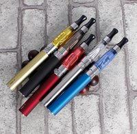 Wholesale Electronic Cigarettes Sets Lights - Ce4 double high-end gift box loaded electronic cigarette smoking set combination of send smoke oil men and women common
