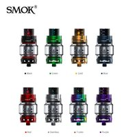 Wholesale Bear Tanks - Original SMOK TFV12 PRINCE tank atomizer for Q4 X6 T10 coil With 8ML Oversized Capacity 25.5mm Diameter Wide Bore Drip Tip fit Majesty 225W
