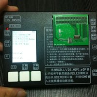 Wholesale Apple Lcd Adapter - New Black Aluminum Touch Screen & LCD Tester Frame Machine With 2pcs PCB Testing Board + 5V 2A Adapter For iPhone 6S 4.7 Inch DHL Free