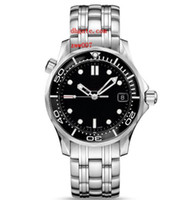 Wholesale planets round - Luxury AAA Brand Automatic Mechanical Professional Planet Ocean James Bond Wristwatch 212.30.36.20.01.002 Co-Axial Steel Men Watch Watches