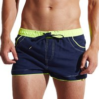 Wholesale Clothes Man Shorts - Wholesale-Brand Mens Beach Casual Shorts Trunks Man Cargo Workout Jogger Exercise Boxers Men Sweatpants Fitness Clothing Casual Short
