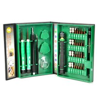 Wholesale Repairing Kit - 2017 Professional Flexible 38 in1 Precision Screwdriver Set Mobile Phone PC Tablet Repair Kit Tools Free shipping