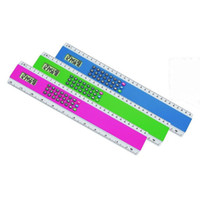 Wholesale Music Fountain Pen - 30 cm ruler calculator solar calculator gift ruler calculator