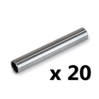 Wholesale Tattoo Grips Tips Stems - Wholesale-20 Pc Tattoo 304 Stainless Steel gun Machine Back Stem Tube Grip Tip Needle Supply