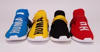Unisex original fabric colors - New Pharrell Williams Original Human Race NMD Truth Boost Colors Running Sports Shoes ship with box