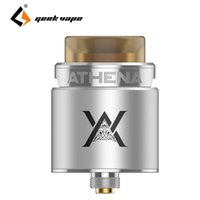 Wholesale Compatible Systems - GeekVape Athena Squonk RDA with Top Angled Airflow System Compatible with Athena Squonk MOD Retail Product
