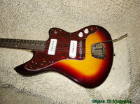 Wholesale Electric Guitar Jaguar Sunburst - Custom Shop Sunburst Jaguar Electric Guitar Rosewood Fingerboard OEM From China