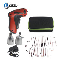 Wholesale Electric Lock Pick Gun - HOT KLOM Cordless Electric Lock Pick Gun Auto Lock Picks Tools Pick Guns Lockpicking Lock Pick Set Locksmith Tools