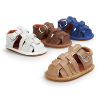 Wholesale Green Baby Shoes Boy - 3 pairs(can choose sizes)Hot sale baby boy sandals Summer baby boy fist walkers Newborn shoes