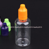 Wholesale Plastics Bottle Manufacturing - 2017 Hot Selling PET E Cig Liquid Bottle 50ml Clear Needle Tip Bottles With Childproof Tamperproof Cap From Bottle Manufacture