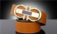 Wholesale Good Gods - ICE fashion accessories matching clothing pants letter belt double God and L very good quality leather copper gfl buckle belt free shipping