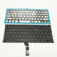 teclado de corea al por mayor-Nuevo coreano Coreano Laptop Keyboard Backlight para Macbook Air 13