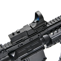 Wholesale reflex free - New Tactical Red Dot Scope EX 182 Element SeeMore Railway Reflex C-MORE Red Dot Sight 6 Color Optics Free Shipping