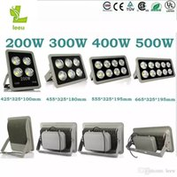 Wholesale Exterior White Light - New Led Floodlight Led Flood Light 200w 300W 400W Sportlight Exterior Reflector Floodlight Spot Exterieur Lamp Outdoor Lighting