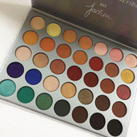Wholesale Palette Eyeshadows - Eyeshadow Mor 35 color Eyeshadow Palette The Jaclyn Hill Eyeshadows Blushes 35 Colors Natural Eye Shadow Limited Edition Eyes Makeup
