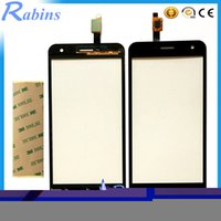 Wholesale zte blade free shipping resale online - quot Touch Screen Touchscreen Digitizer Touch Sensor For ZTE Blade A465 Front Glass Touch Panel Repair Part Tape