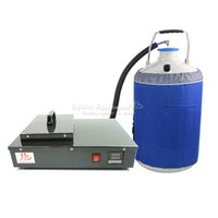 Wholesale Separate Lcd Separating Machine - New FS-06 liquid nitrogen freezing LCD Separating machine 2 in 1 pack with vacuunm pump and nitrogen tank