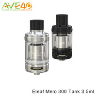 Wholesale Es Top - Eleaf Melo 300 Tank Sub Ohm Top Filling Atomizer 3.5ml 6.5ml Two Types with ES Sextuple Coil