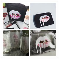 Vendita pazzesca !! 10pcs Kylie Jenner Holiday vs regolare make up borsa Kylie Cosmetics Collection Make-Up Bag Limited Edition