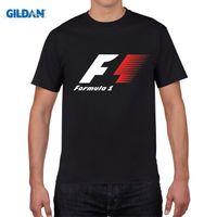 Wholesale Teen Boys Clothing - Formula 1 One F1 Boy T Shirt Cotton Short Sleeve O Neck Tshirt Clothing Teens 2017 Design T-shirt For Man