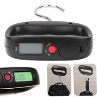 Wholesale Digital Handing Luggage - Pocket Portable 50kg 10g LCD Digital Electronic Hand Held Hook Belt Luggage Hanging Scale Backlight Balance Weighing