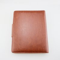 Wholesale Notebook Products - Magnetic Notepads Logo Diary Leather Cover Notebook Handmade Personal Diary Vintage Luxury Stationery Products Business Office Supplies