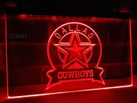 LD239b- Dallas Cowboys Sport Bar LED Neon Light Sign