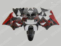 Red Flames Kit de carenagem para HONDA CBR900RR 98 99 CBR-900RR CBR 900RR 919 1998 1999 Carcaças set + 7gifts