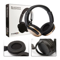 Wholesale wireless tablet headphones resale online - KST Bluetooth DJ HIFI Headset Music Headband Headphone with Mic For Samsung S8 Note Cell Phone Tablet
