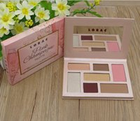 Wholesale lorac champagne eye palette for sale - Group buy 2017 Lorac Pink Champagne Holiday Mega PRO Palette Eye Shadow Color Makeup pro Free DHL Shpipping
