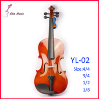 Wholesale Rosin Violin Free Shipping - Wholesale-Basswood Polywood Violin Free Shipping Violin with Size 1 4 3 4 4 4 1 2 1 8 Violin Sent with Bow Rosin and Case