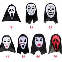 Wholesale Masquerade Hair Accessories - Factory sell ! Hallowmas Final Destination Hair Accessories Hallowmas Mask Cosplay Masquerade Supplies