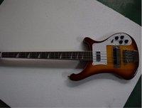 Wholesale Vintage String Instruments - Wholesale- Free shipping Top quality Musical Instrument 4 String RIC Guitarra Chrome Hardware Ric 4003 Bass Guitar Vintage Sunburst