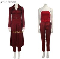 traje x phoenix hombres al por mayor-Traje de Phoenix X-Men Días del futuro Pasado Oscuro Phoenix Jean Grey Trajes de cosplay Disfraces de Halloween para mujeres